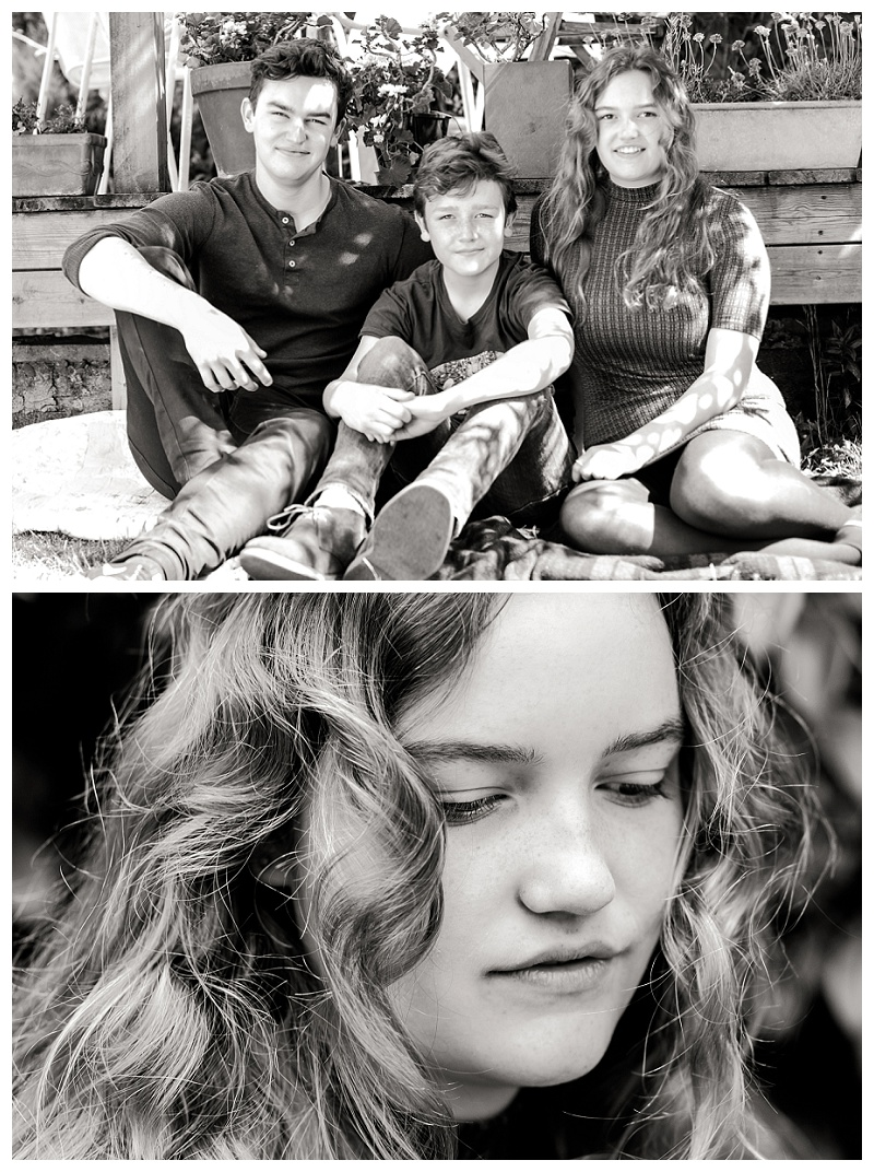 Raynes Park teenage children photo shoot