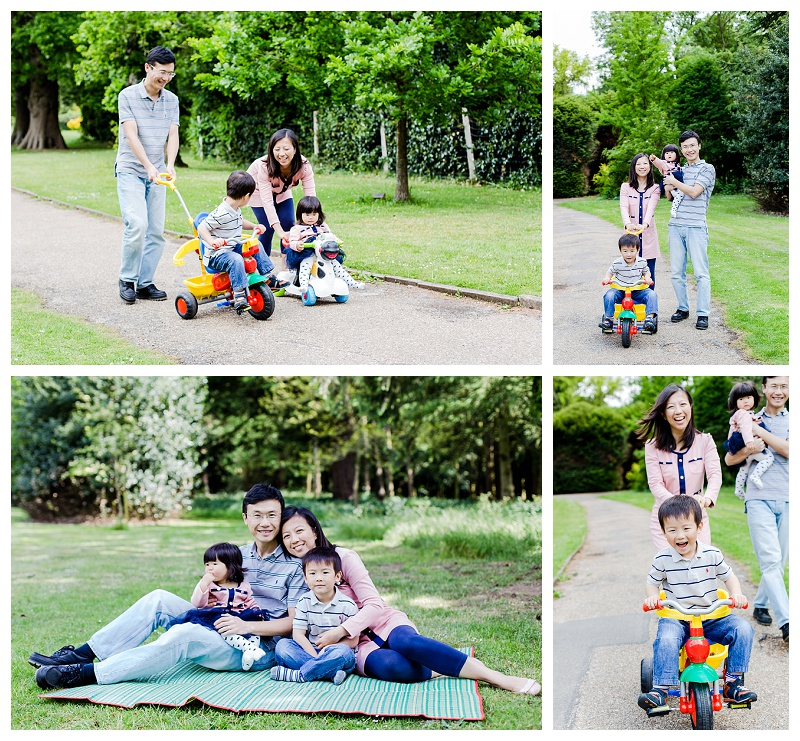 Nonsuch Park family photo shoot