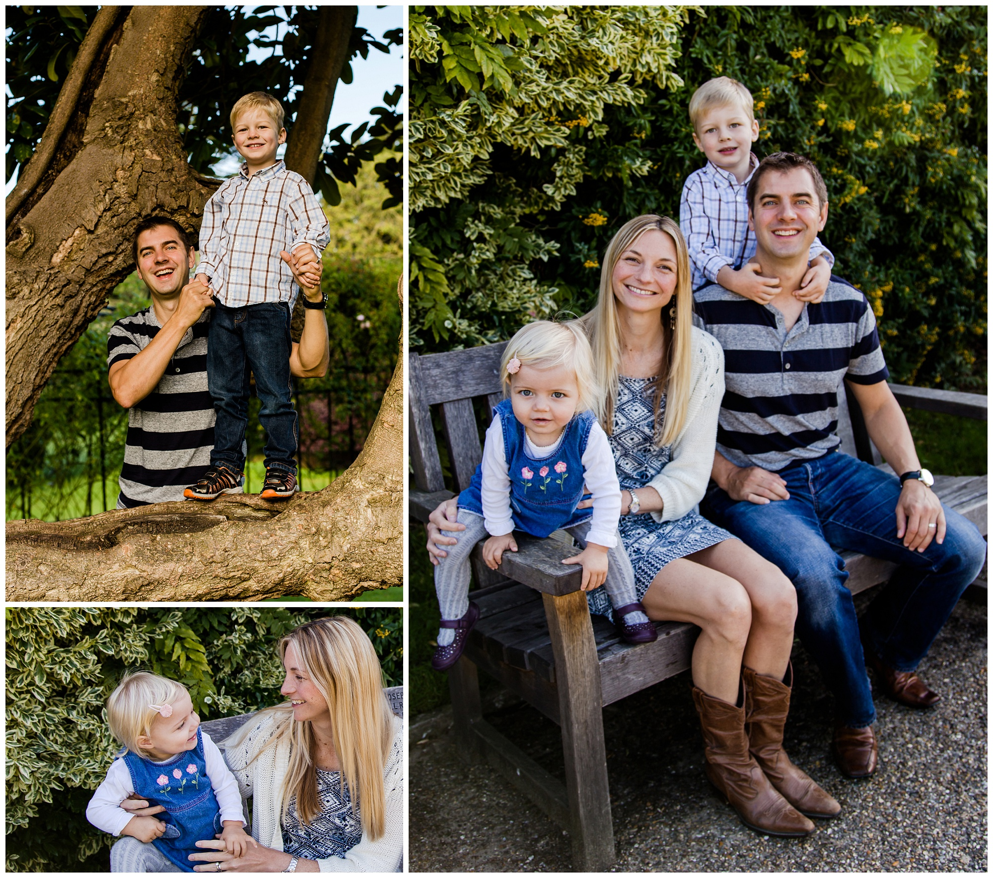 Motspur Park family photo shoot outdoors
