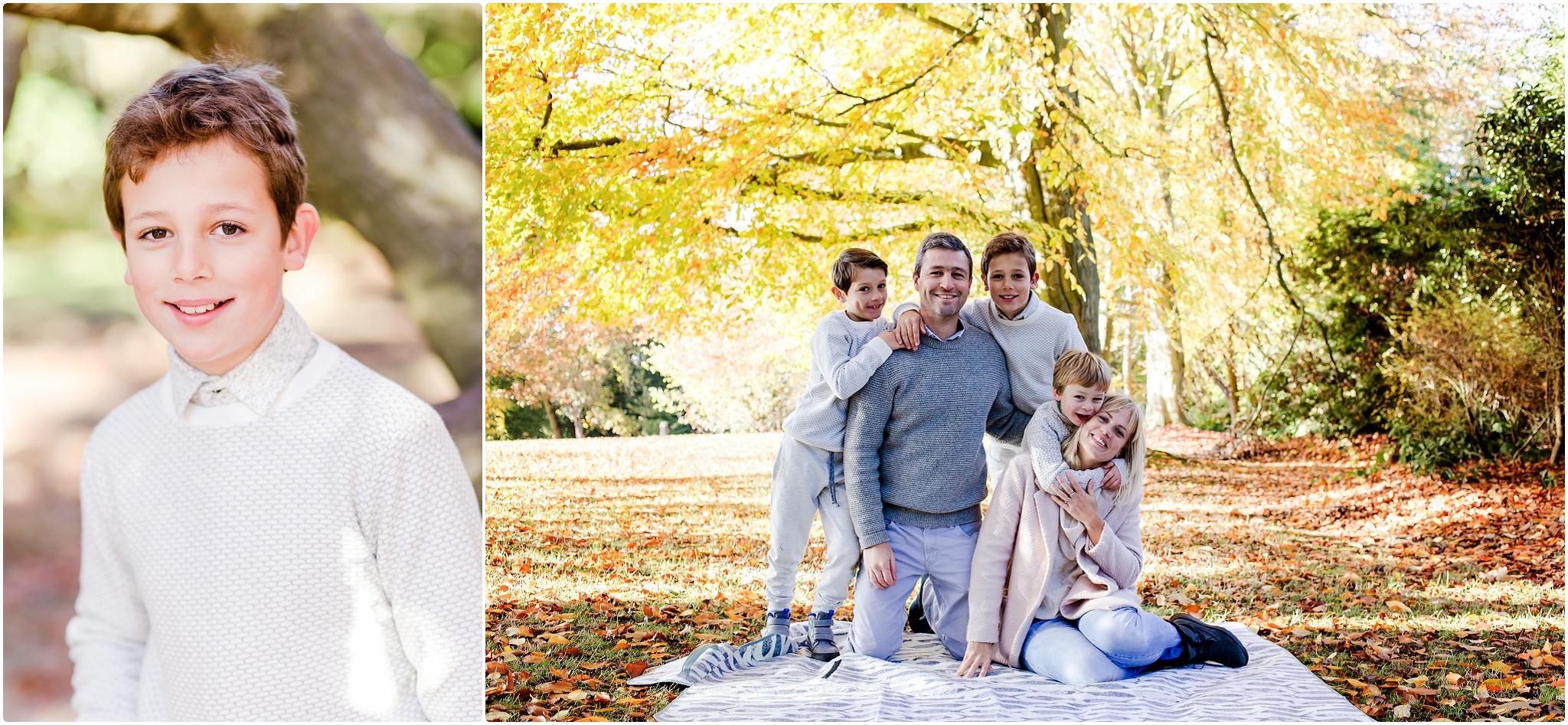 Autumn Family Photographs Wimbledon