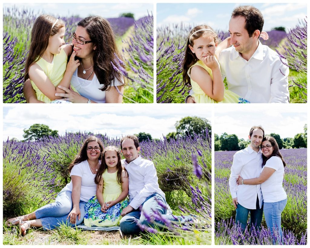 family photography at lavender farm