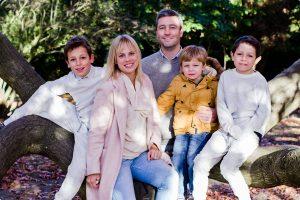 Gorgeous natural family photo shoot