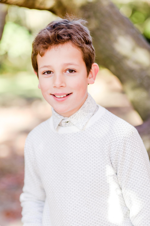 Boy photo shoot in Wimbledon Park