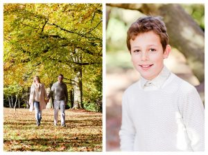 Mum and dad and son photo shoot
