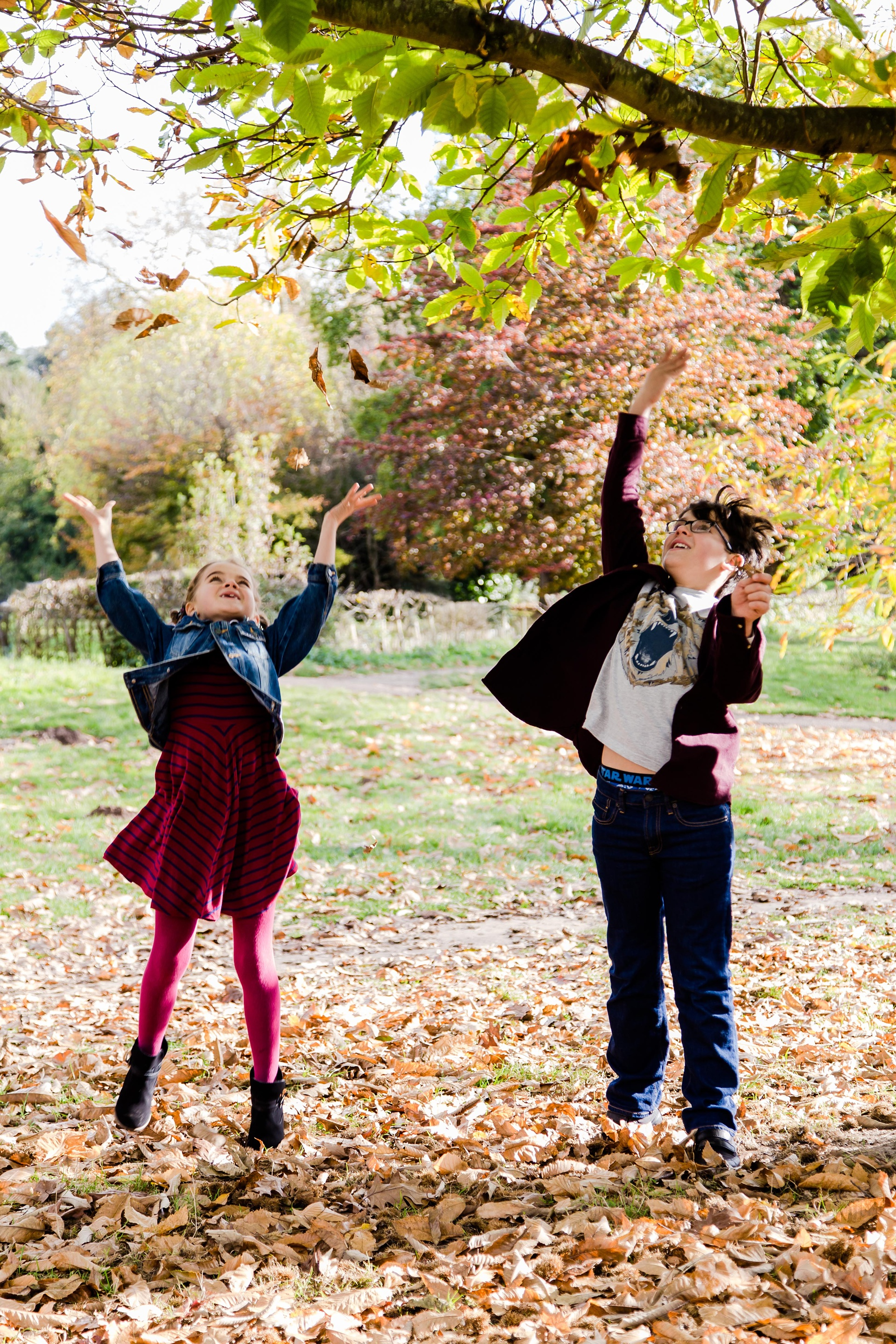 Fun family photography in Motspur Park