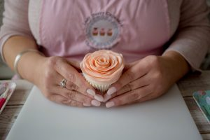 Small business photography cupcakes