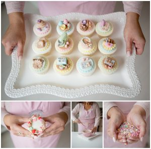 Cupcakes business photography