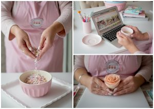 Small business photos cupcakes