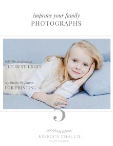tips for better family photography