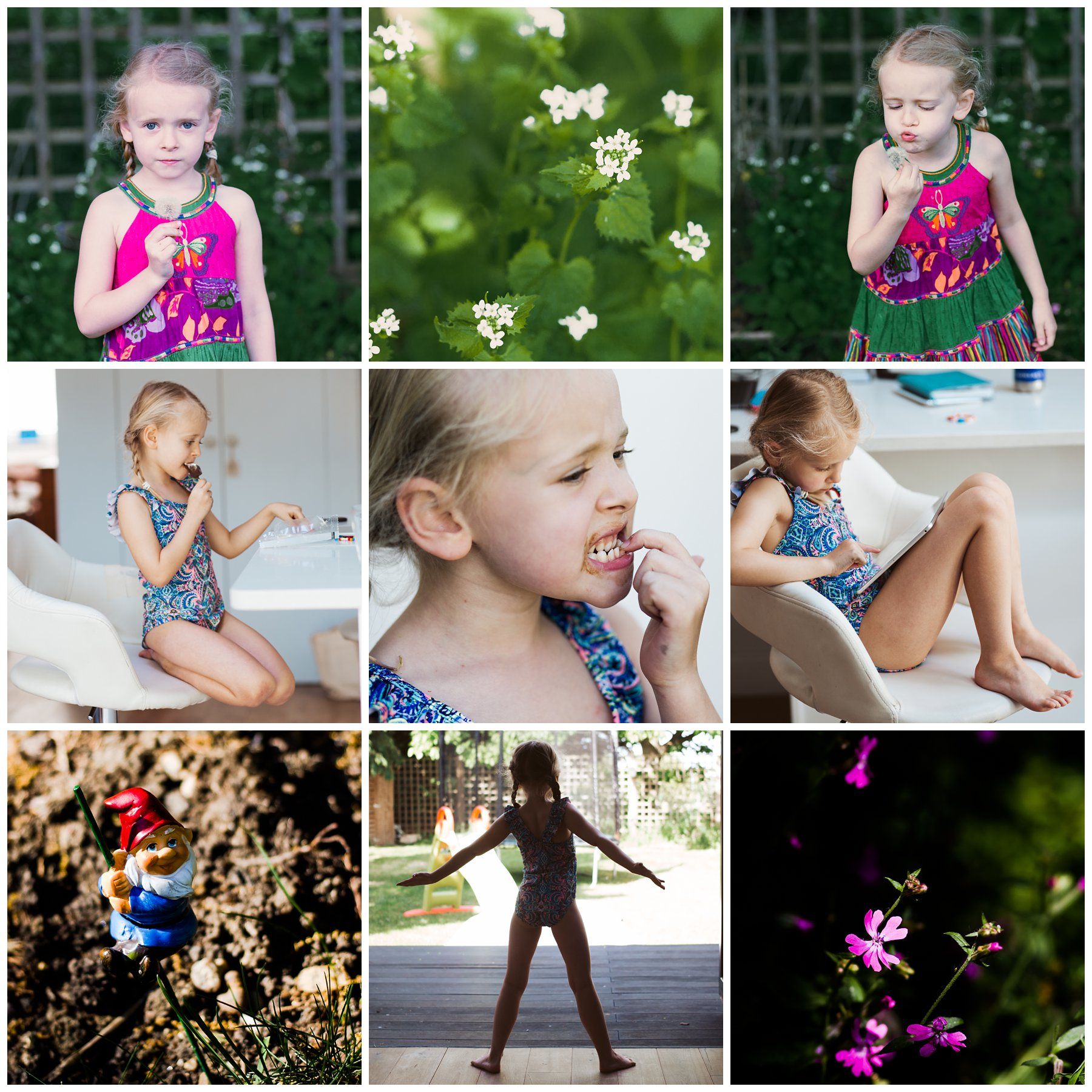 Selection of family photography