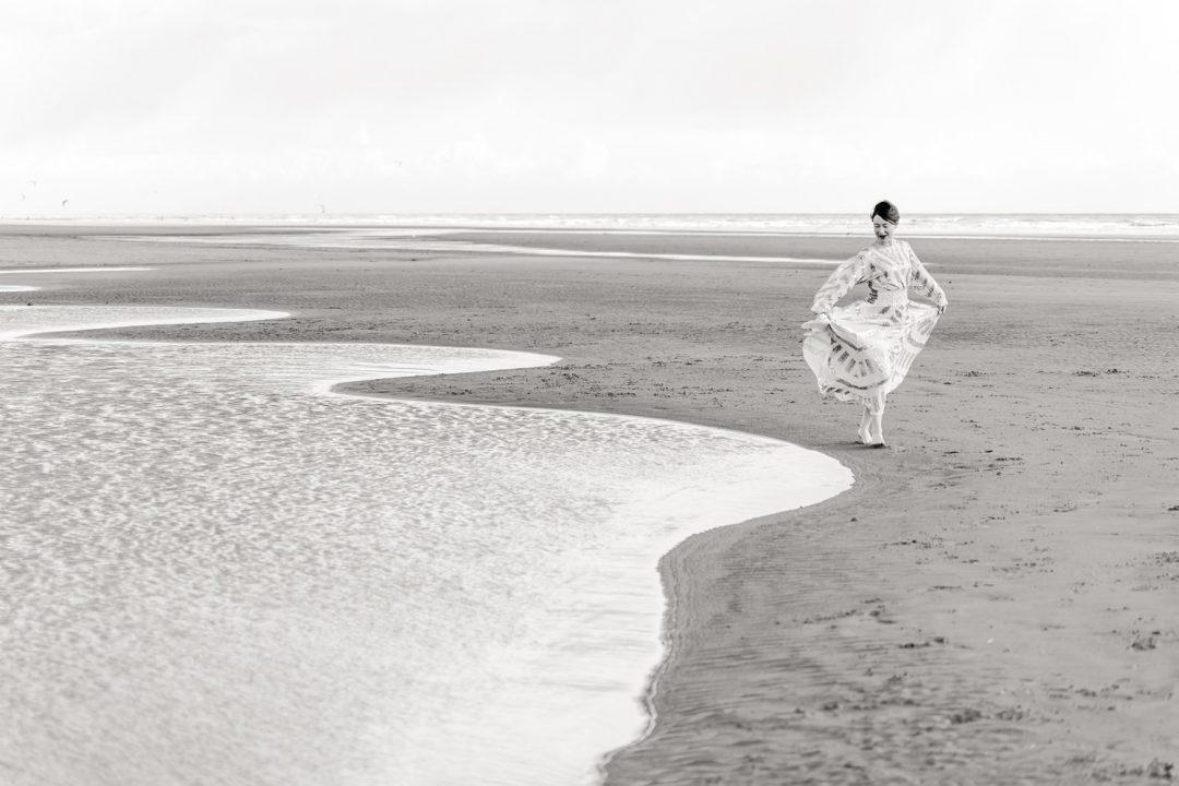 Beach photo shoot for women